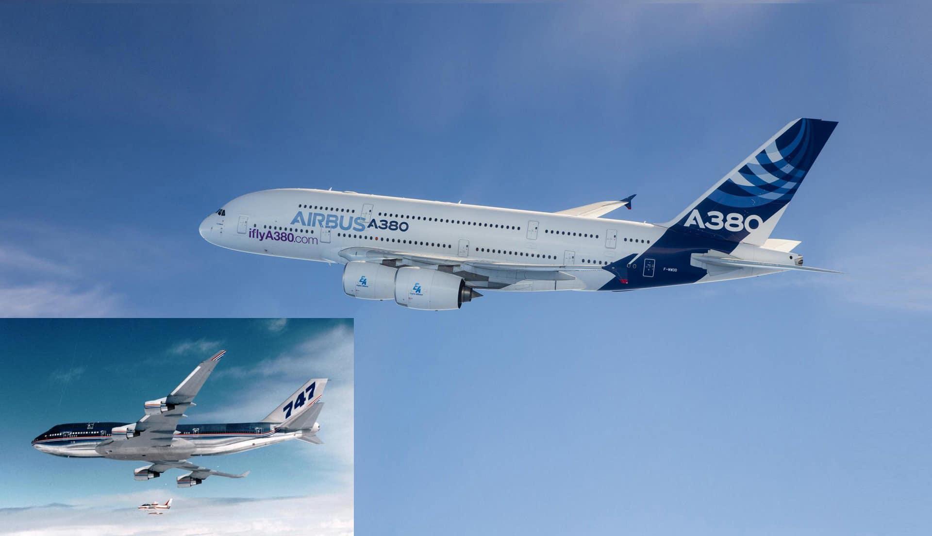 B747 A380