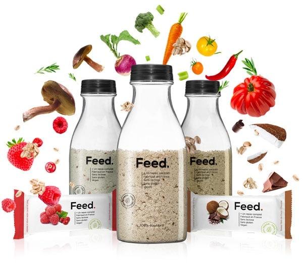 Publicité Feed nourriture intelligente smart food tech