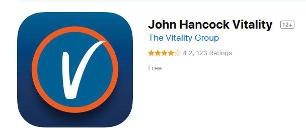 John Hancock Vitality app