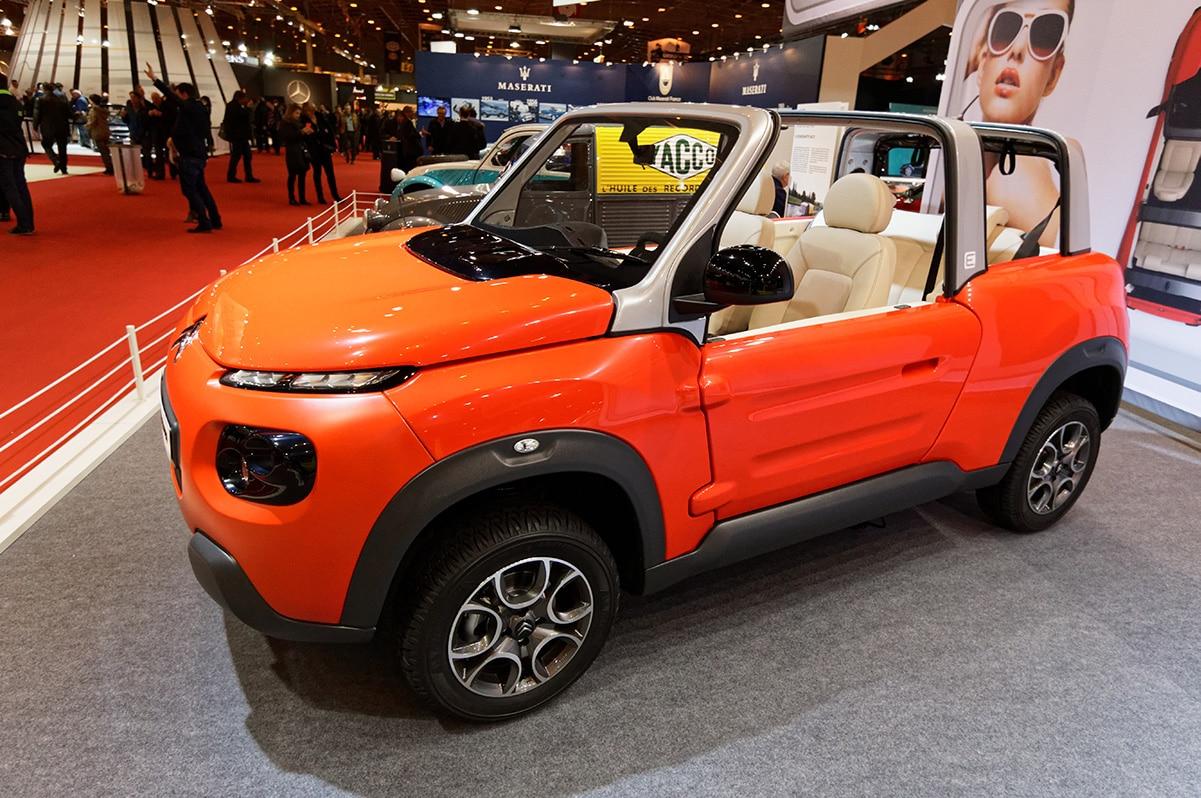 Voiture électrique Citroën EMéhari
