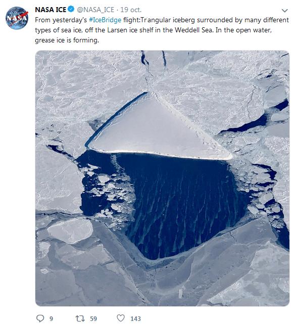 NASA ice