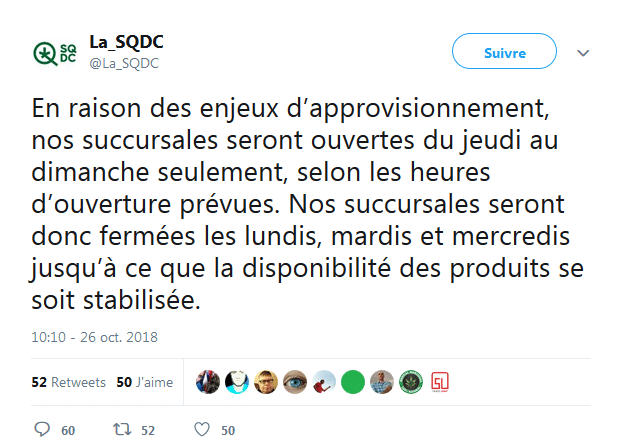 SQDC Canada Cannabis