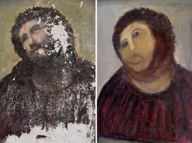 Restauration Christ de Borja