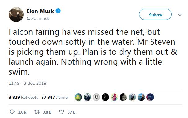 Elon Musk Twitter SpaceX satellites