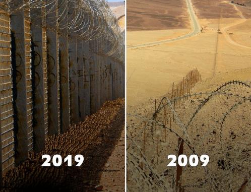 10yearschallenge israel