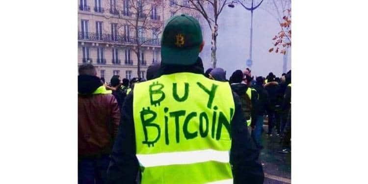 bitcoin gilets jaunes