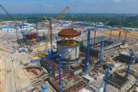 chine nucléaire dôme Hualong One