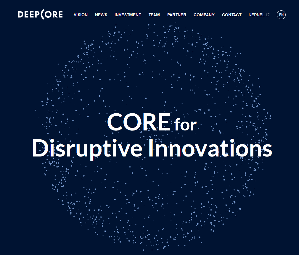 Site Internet DeepCore
