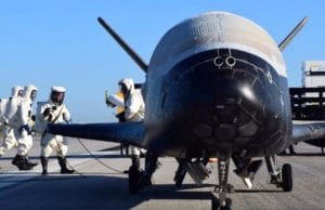 X-37R après atterrissage