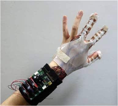 gant de réalité virtuelle