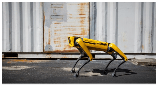 chien spot boston dynamics