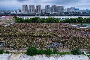 cimetière de vélos chine