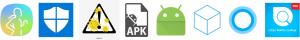 icônes applications espion