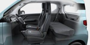 intérieur Hong Guang Mini EV