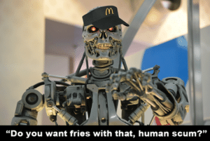 robot mcdo intelligence artificielle