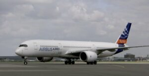 long-courier A350 vol biocarburant