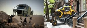 robot Boston Dynamics vs robot Hyundai