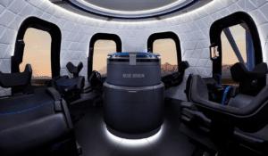 intérieur vaisseau blue origin bezos