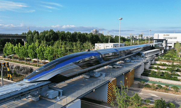 aérotrain maglev chinois