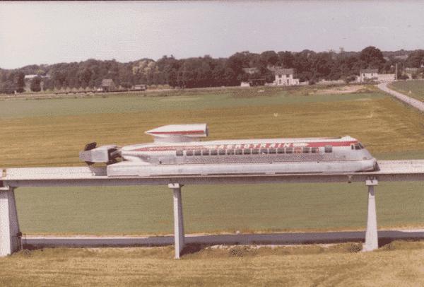 aérotrain français 1970